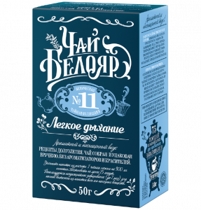 "Tea ""Beloyar"" No. 11 Light breath"