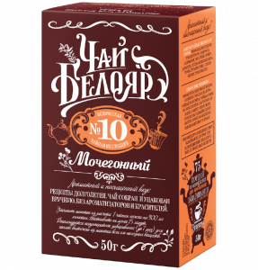 "Té ""Beloyar"" No. 10 Diurético"