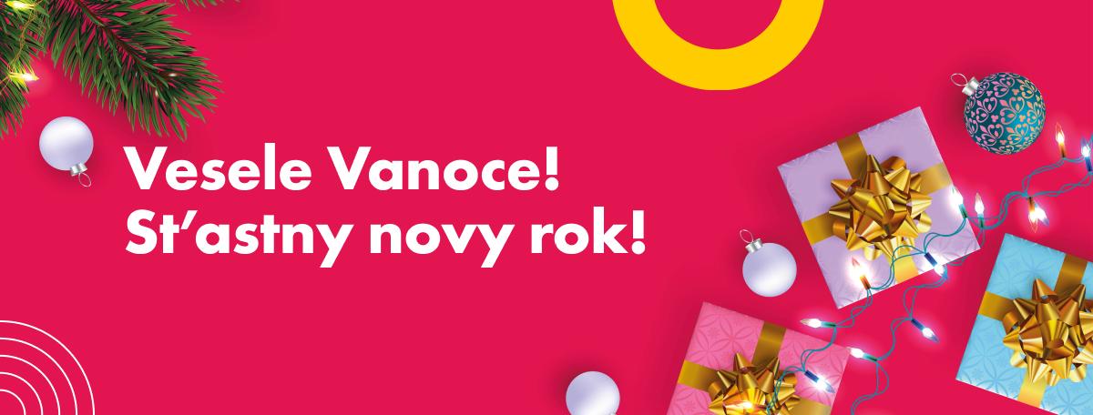 Vesele Vanoce! St'astny novy rok!