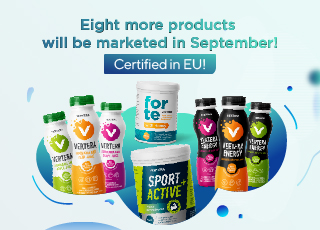Vertera assortment in Europe supplemented with eight new products in September