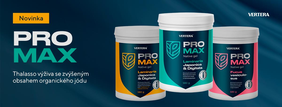 Předobjednávka produktu PRO-MAX je zahájena — prémiový produkt pro péči o vaše zdraví