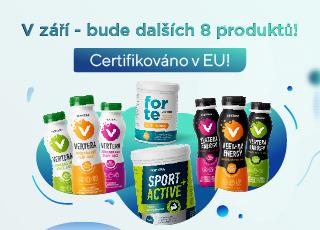 V září se sortiment produktů společnosti Vertera v Evropě rozšíří hned o osm produktů