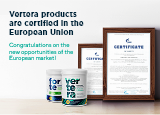 Vertera products are EU certified